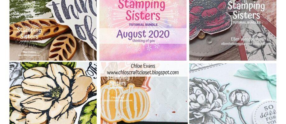 Stamping Sisters – August Blog Hop