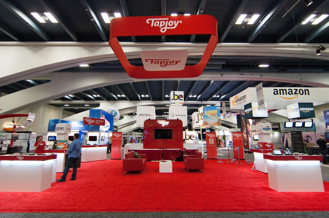 trade show booths in Las Vegas