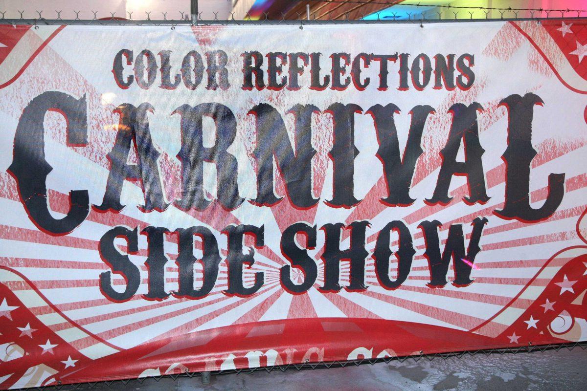Custom graphics banner