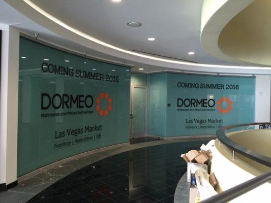 indoor graphics in Las Vegas