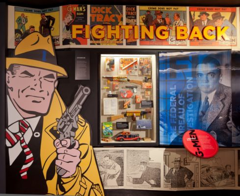 custom graphics for a mob museum