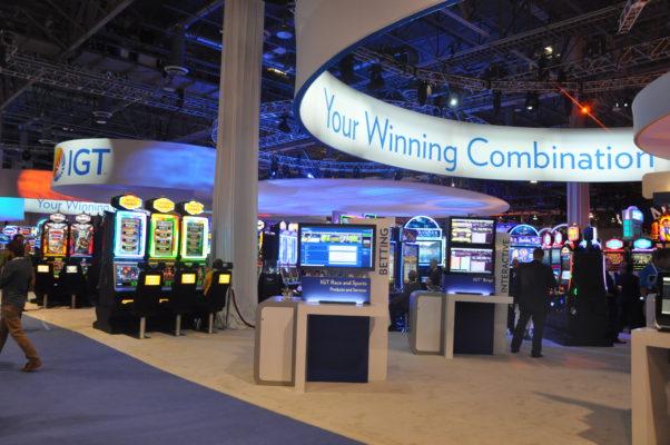 gaming show displays las vegas