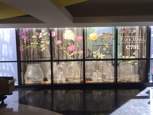 indoor window graphics
