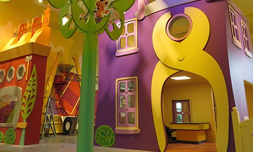 Children's hospital display