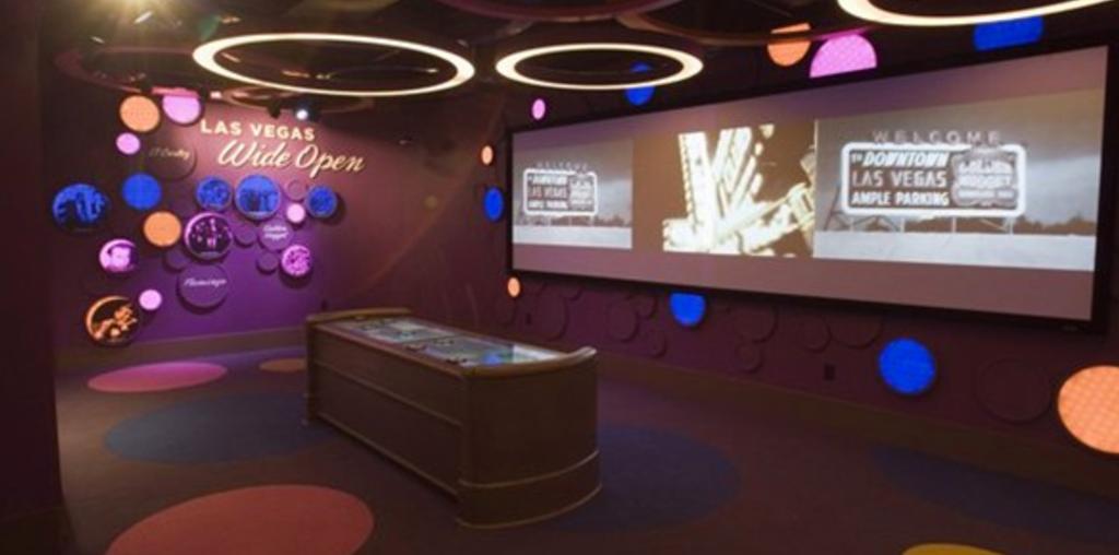 las vegas museum display
