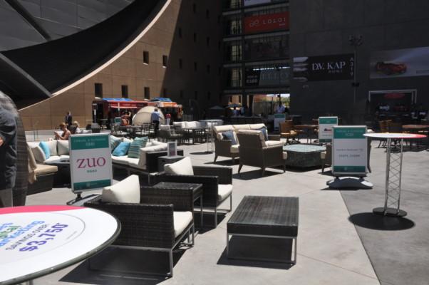 pop up furniture display