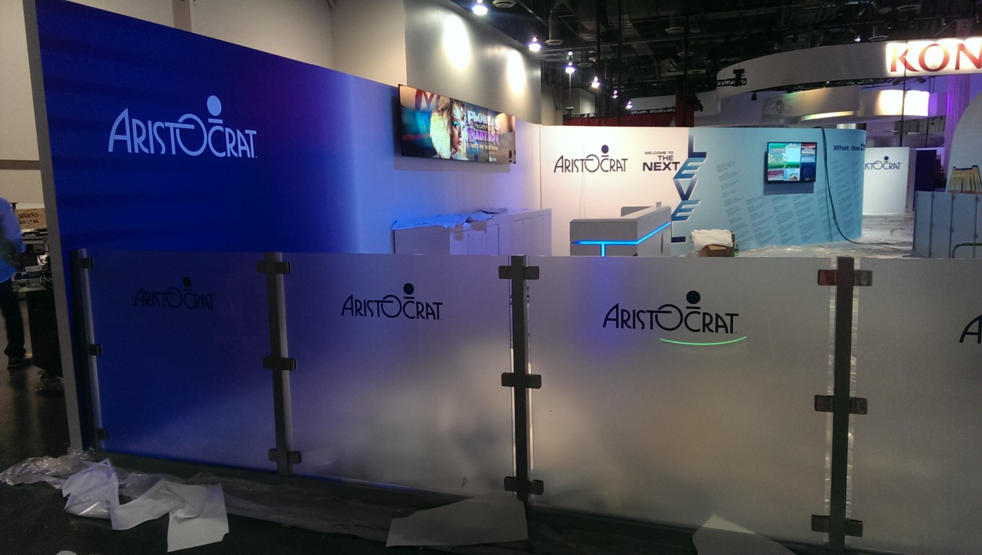 Trade Show Wall Graphics at Convention