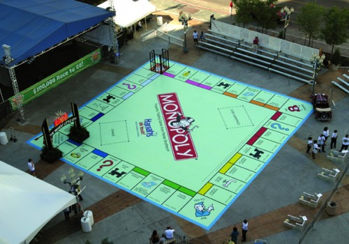 monopoly board display