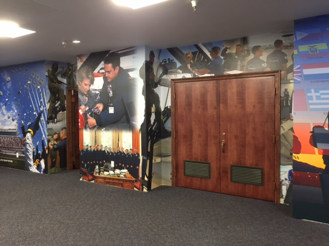 Thunderbirds Museum display