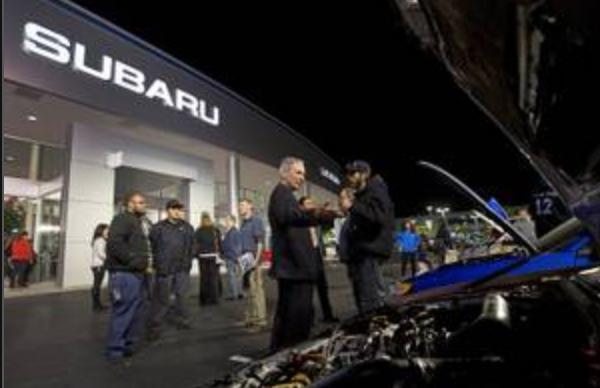 Subaru display