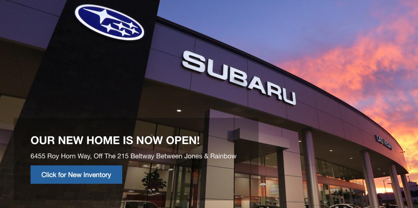 Subaru Las Vegas Storefront
