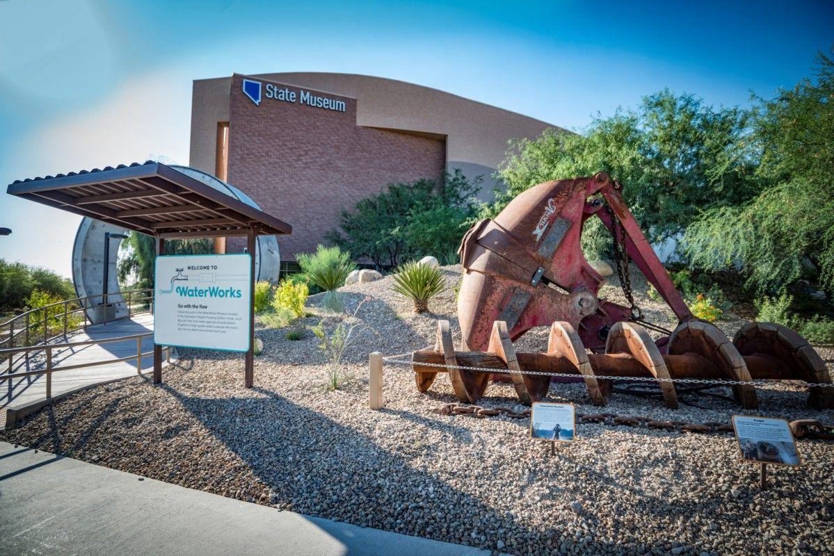 water works museum display