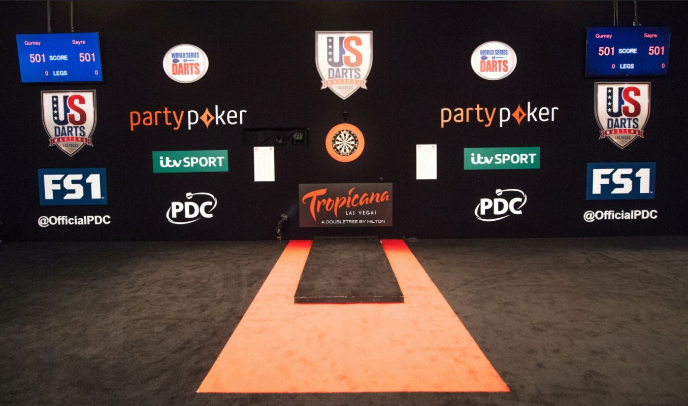 darts competition signs