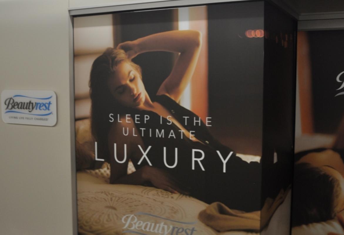 mattress advertisement