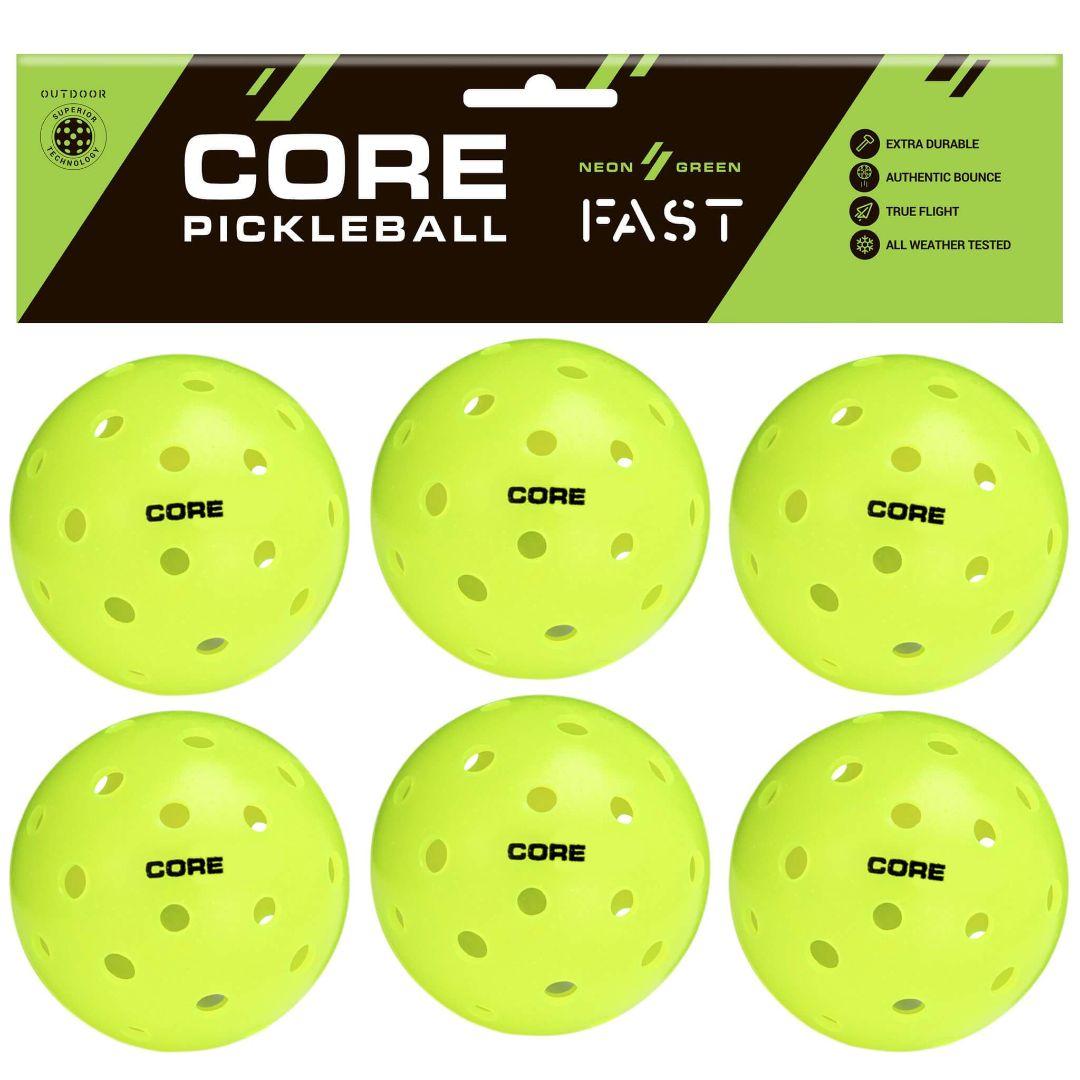 core pickleball balls