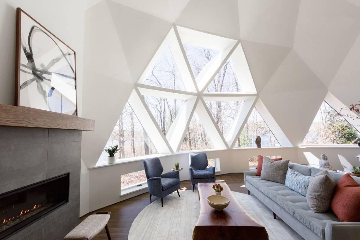 Indian lake dome windows white