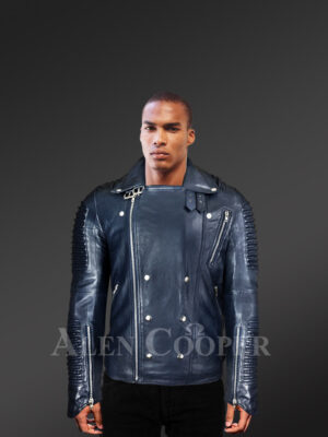 Unique Biker Jacket for Men wirh model new