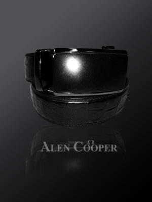 alligator skin leather belts for greater style & appeal