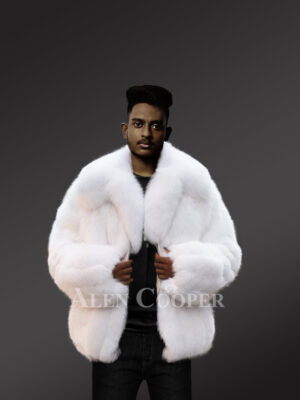 Arctic fox fur jackets for men to reinvent your masculinity