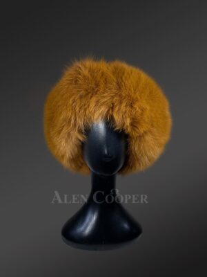 Innovatively designed genuine fur caps to make you more appealing
