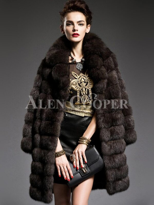 Sable Fur Coat For Stylish Women