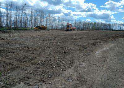 RMWB, Snow Dump Remediation, Construction Monitoring