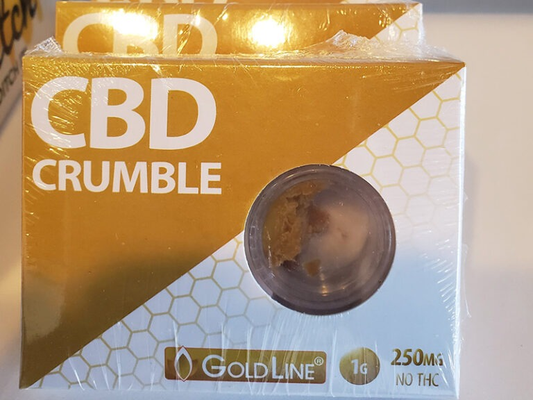 GoldLine CBD crumble, 250mg at Nature's Green House in Fort Lauderdale, FL