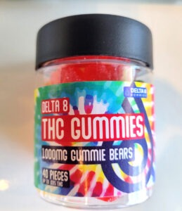 Delta 8 - THC Gummies - 40 ct 1000mg   Nature's Green House