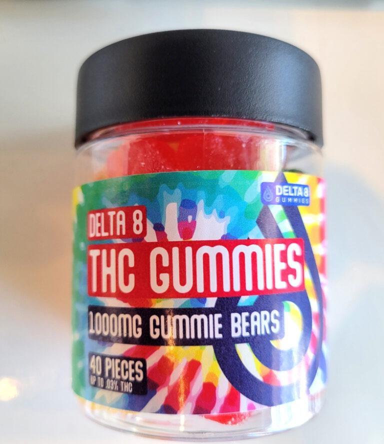 Delta 8 - THC Gummies - 40 ct 1000mg