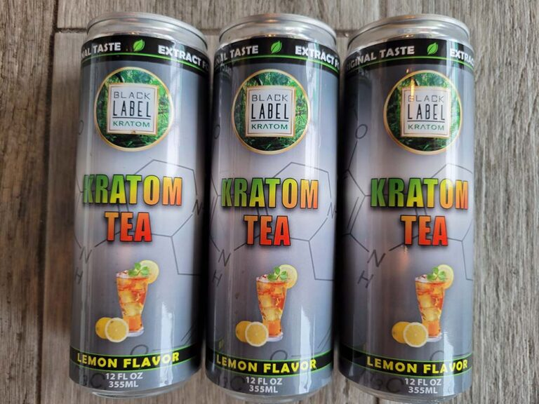 Black Label Kratom - Kratom Tea