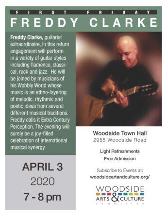 Freddy Clarke guitarist