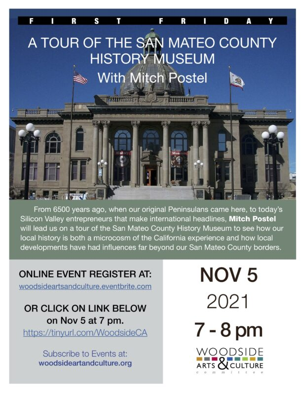 A TOUR OF THE SAN MATEO COUNTY HISTORY MUSEUM With Mitch Postel