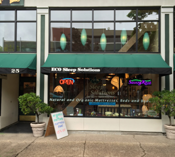 ECO Sleep Solutions' Storefront