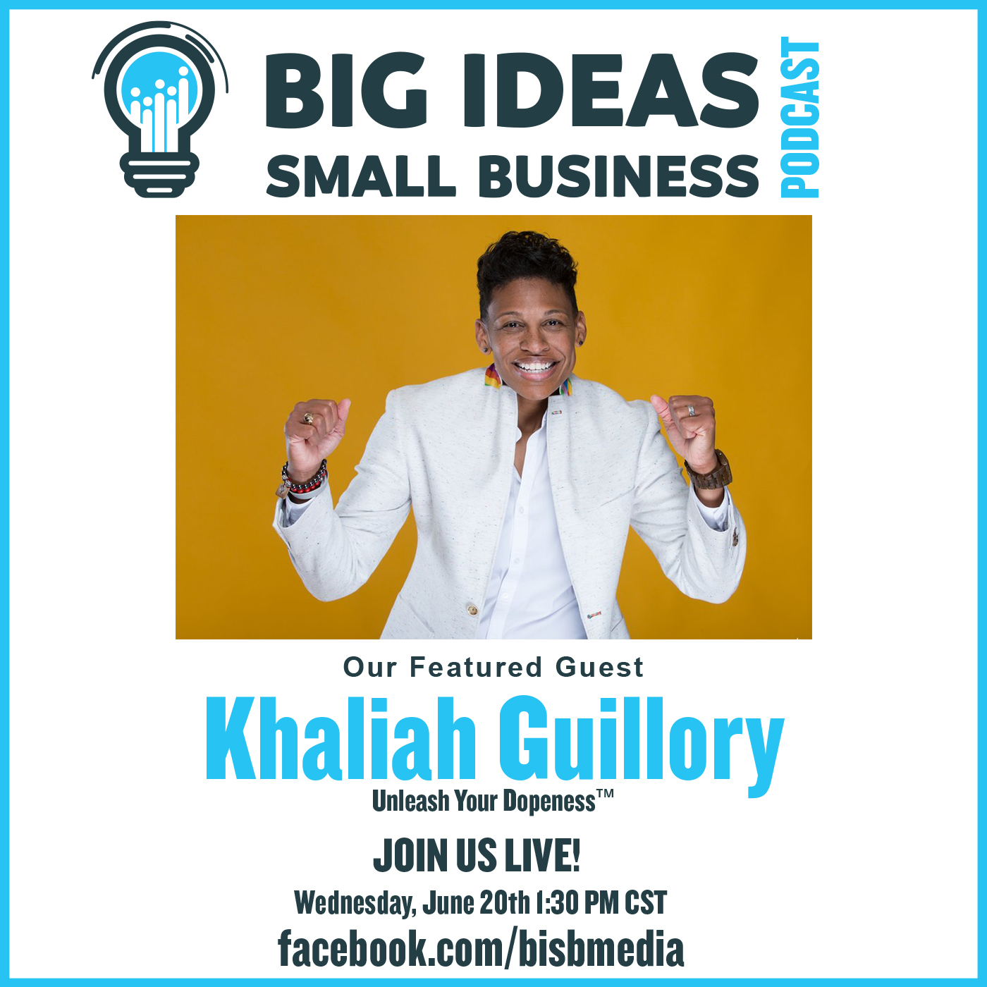 Unleash Your Dopeness with Guest Khaliah Guillory