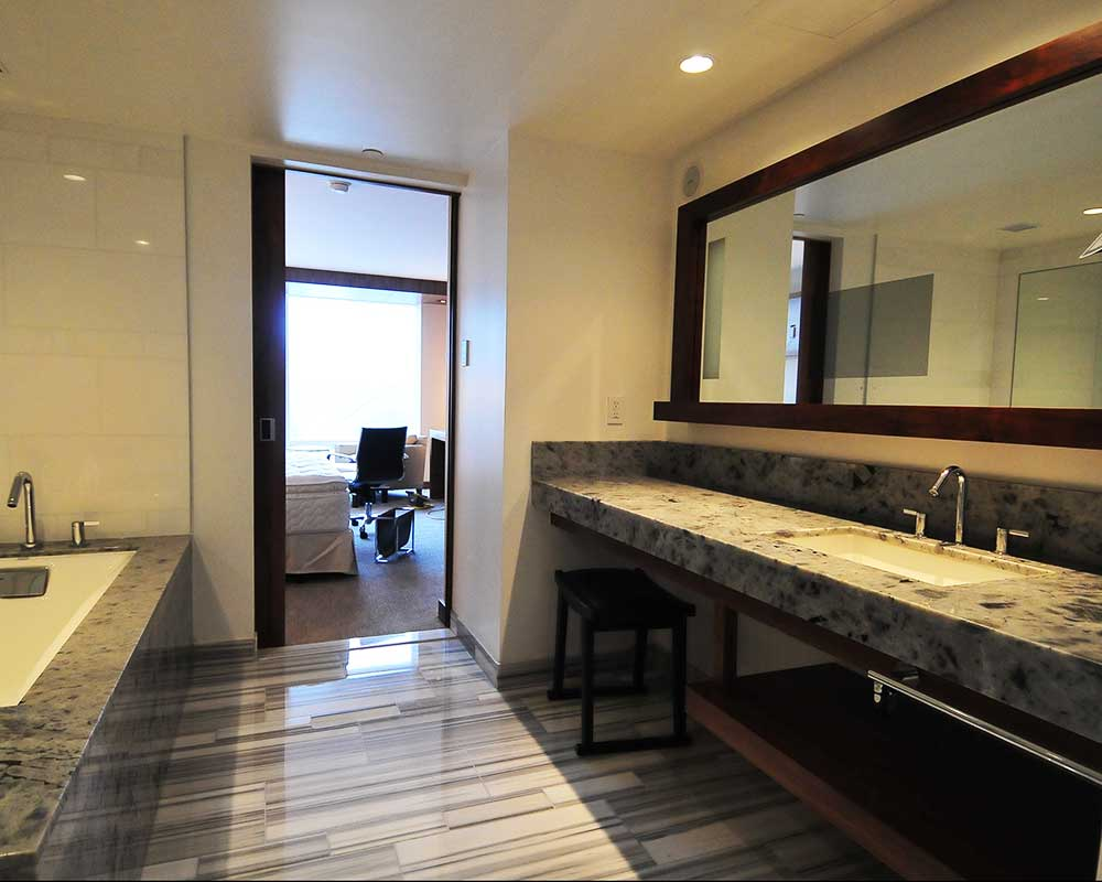 house of stone marble and granite bathroom