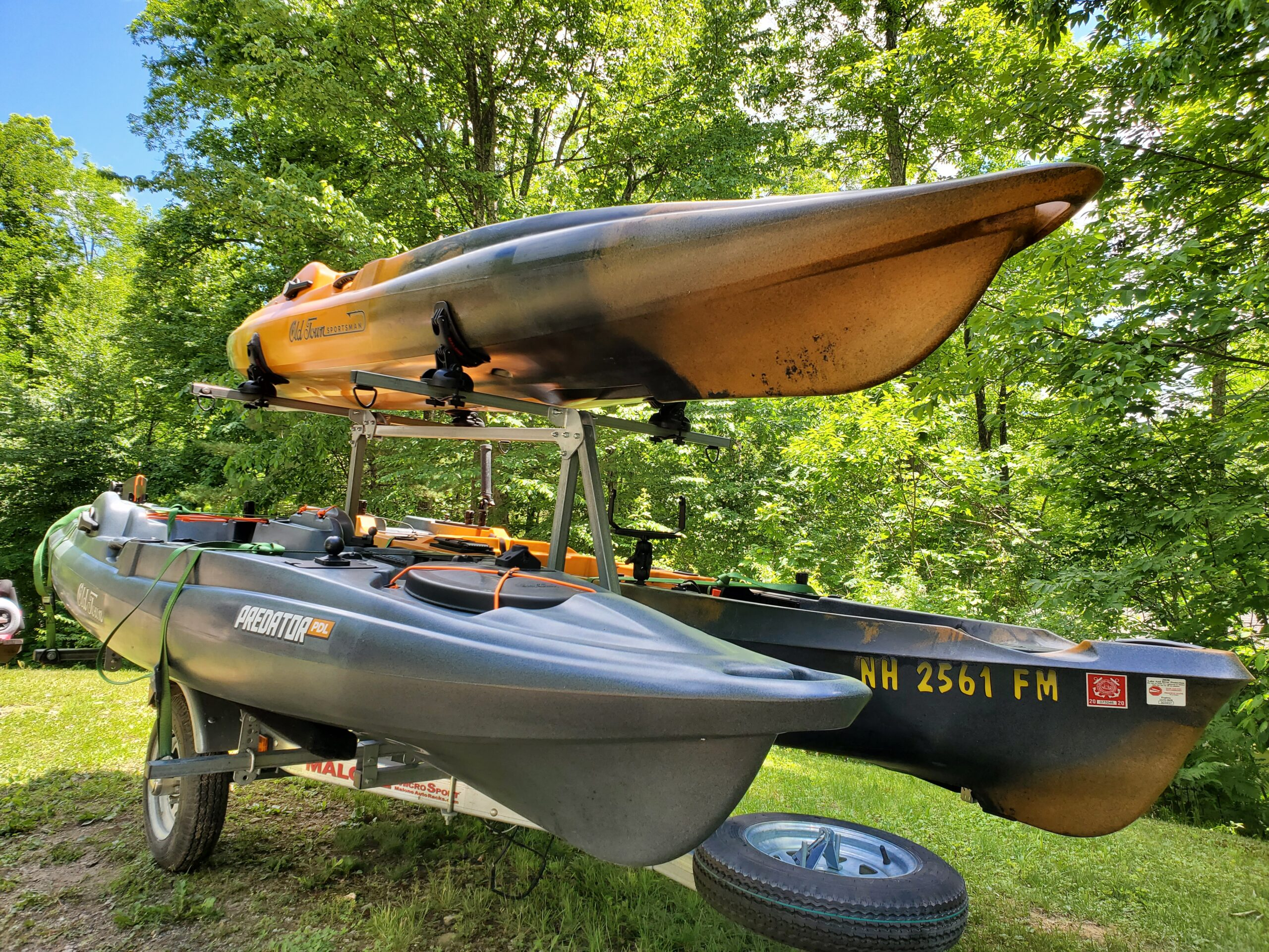 New Hampshire kayak fishing guide