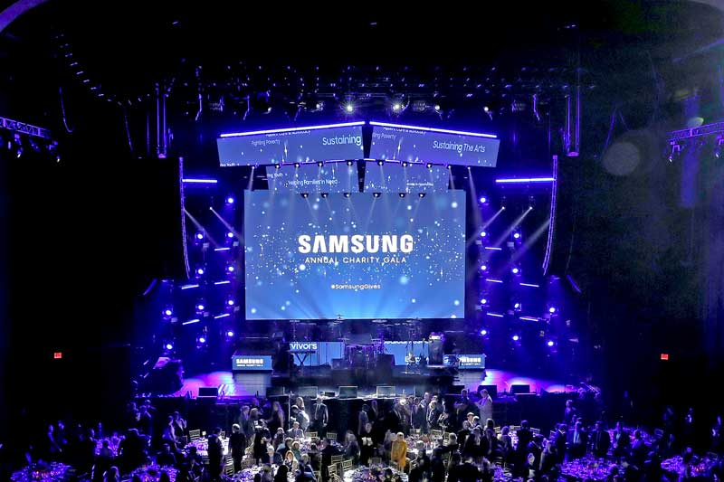 Samsung Charity Gala Raises $3 Million at Star-studded Event in The Hammerstein Ballroom