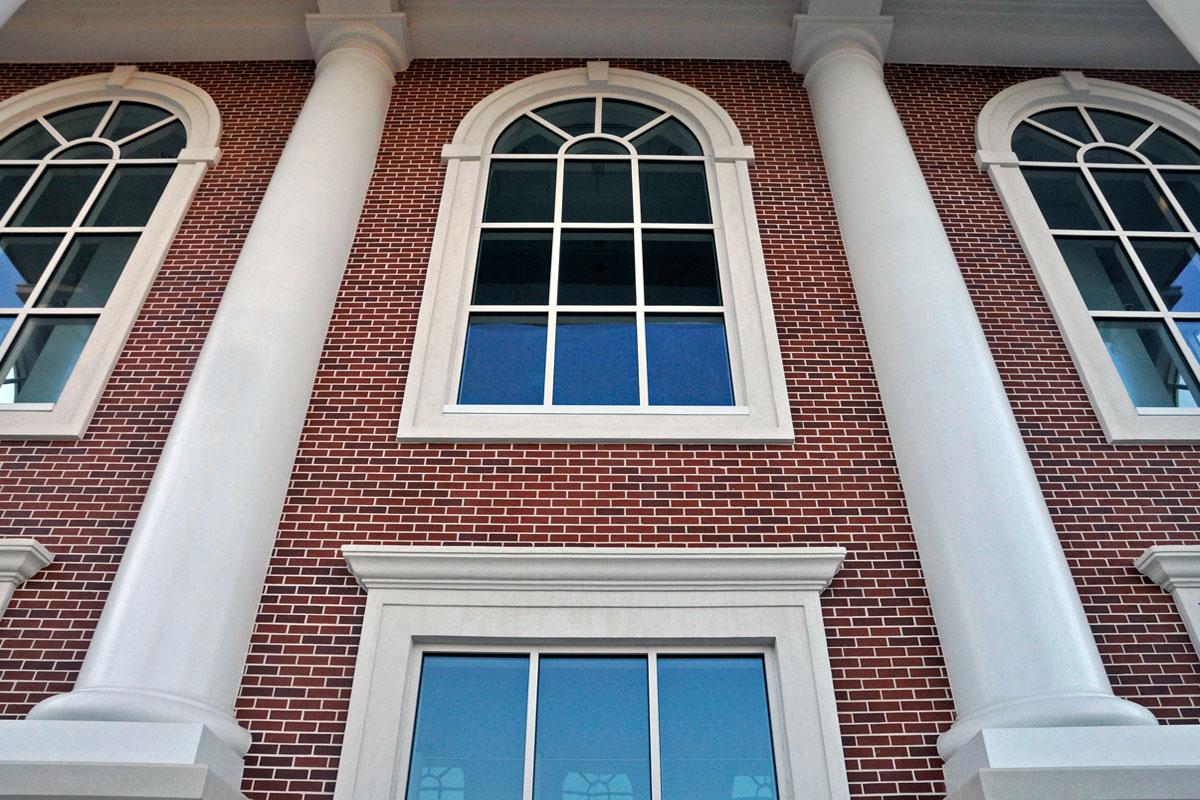 Monroe Fine Arts Exterior Detail