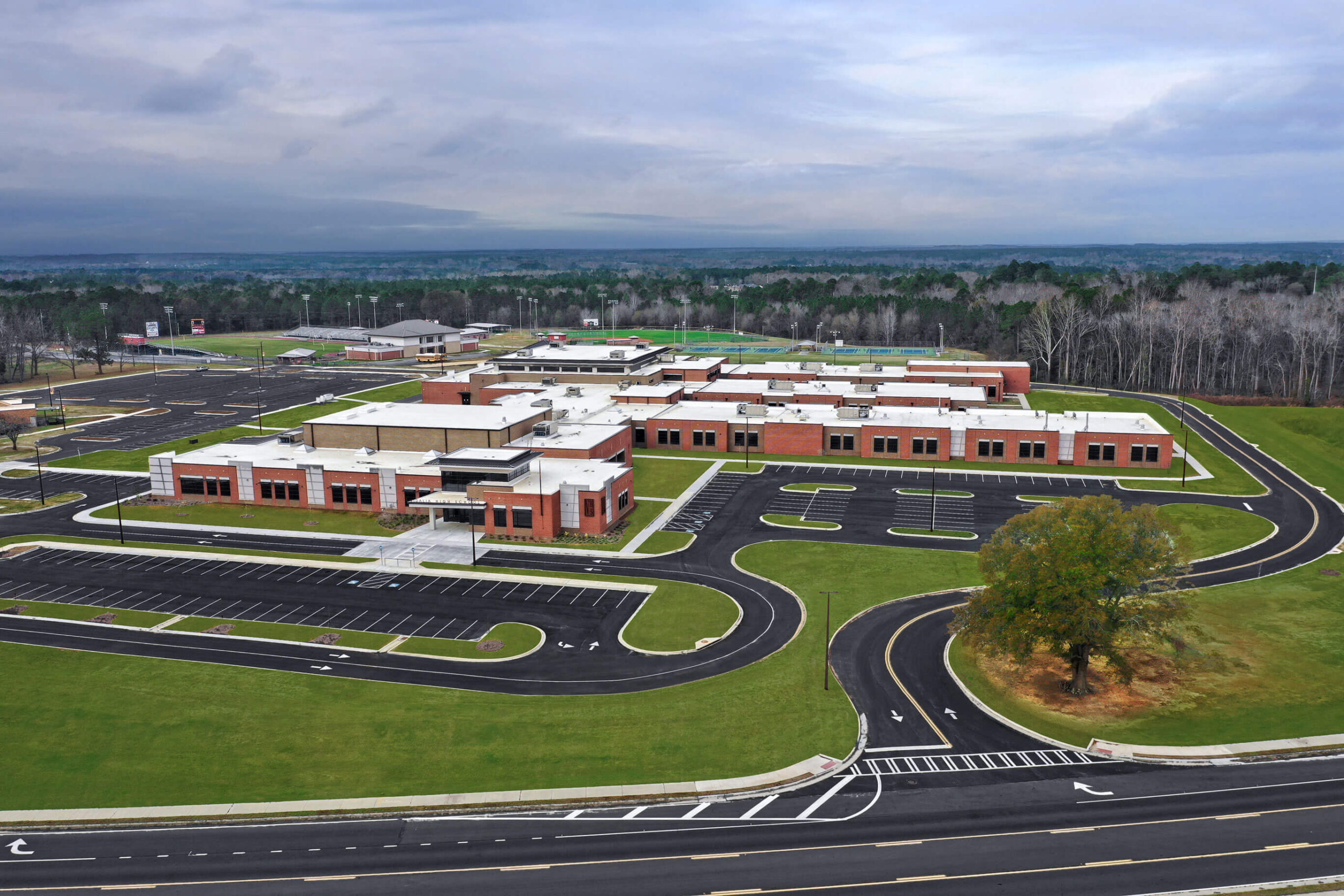 Vidalia High School Aerial View