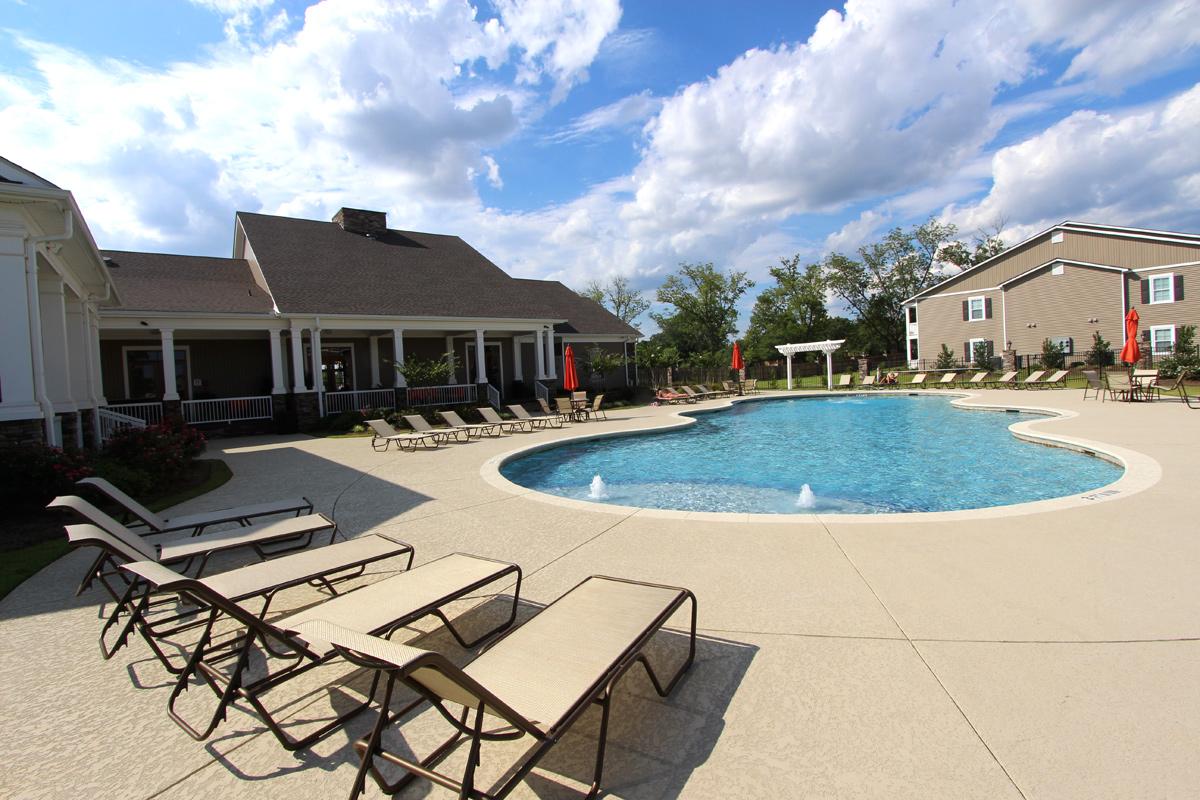 Asbury Park Apartments Pool & Patio