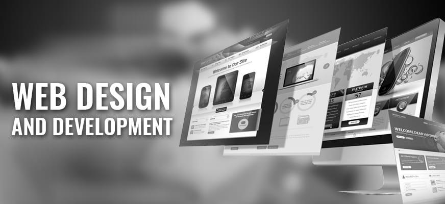 web design header