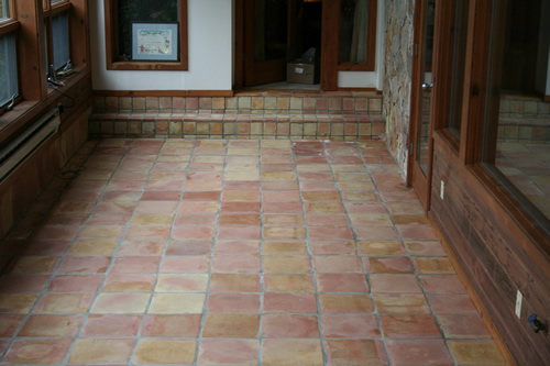 New England S Best Mexican Tile Brick And Terracotta Floor Cleaning