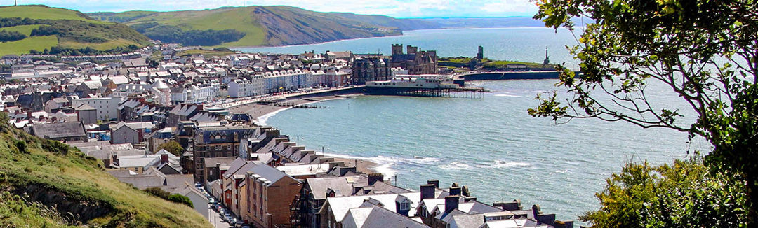 Aberystwyth Wales a Beautiful Beachside City