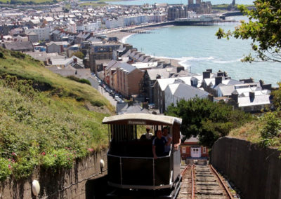 Aberystwyth Funicular Train