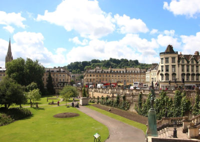 Park in Bath, England