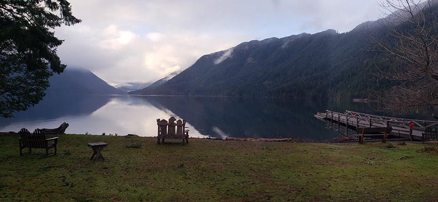 Beautiful Lake in Washington