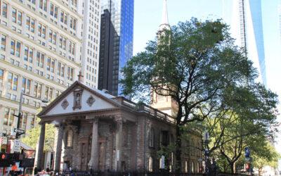 St. Paul's Chapel Hidden in Plain Sight in Manhattan
