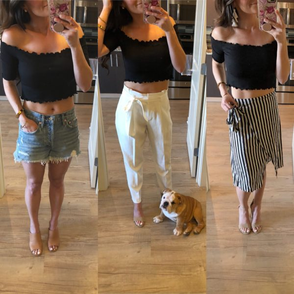Three Ways To Style A Crop Top