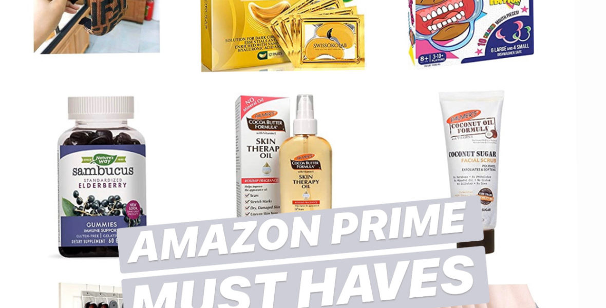 Checking In + Amazon Prime Must Haves