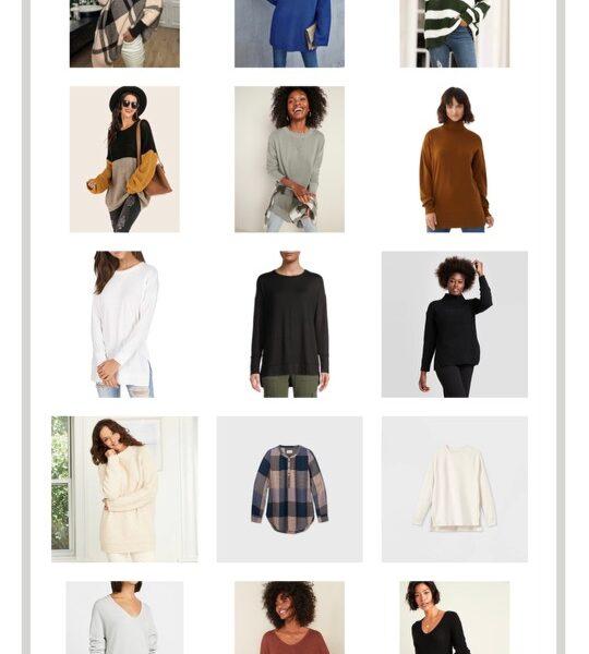 Tunics For Fall & Winter